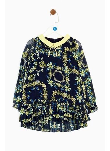 Lia Lea Kız Çocuk Lacivert Elbise Lacivert